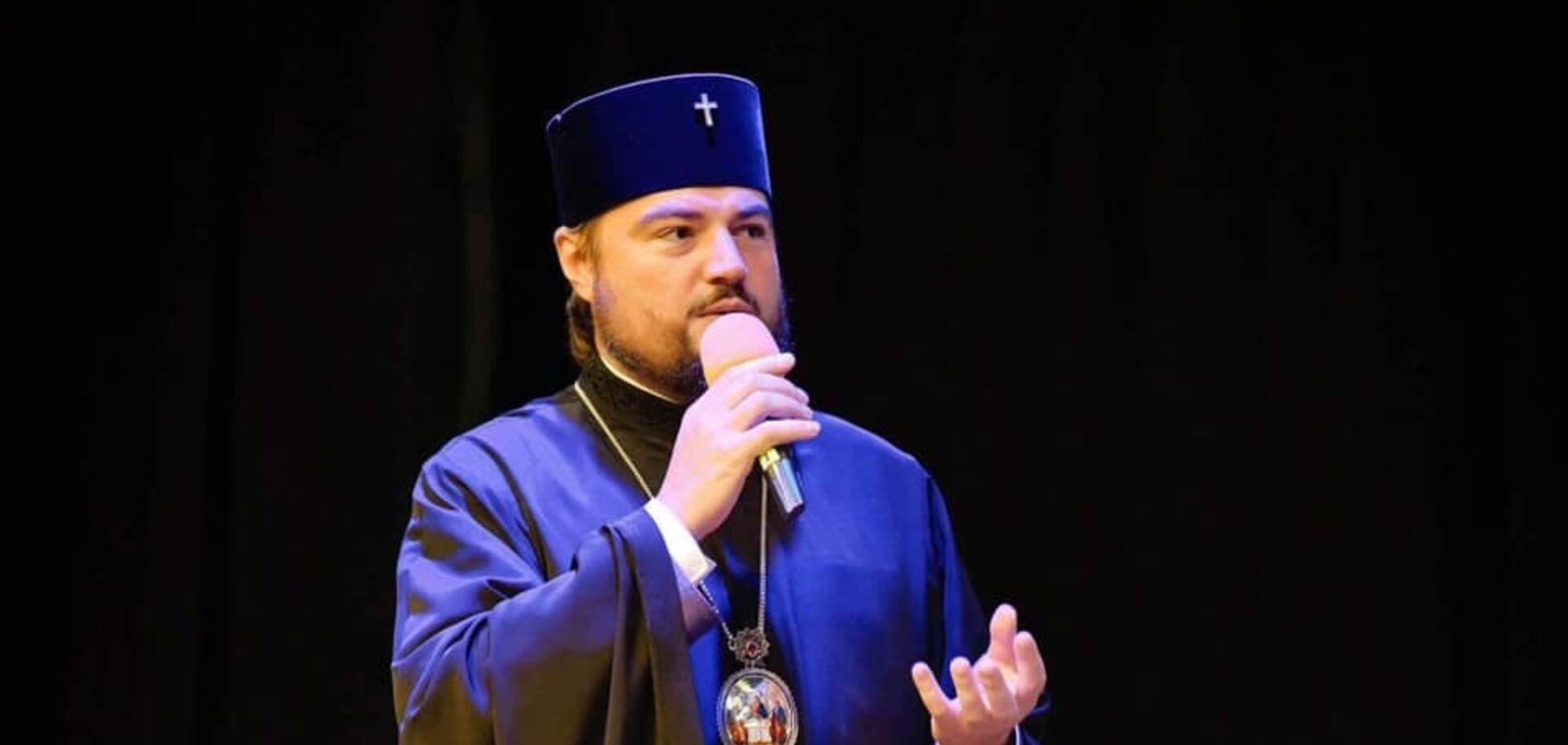 Спички 'старцам' не игрушка: митрополит Драбинко оценил действия Филарета