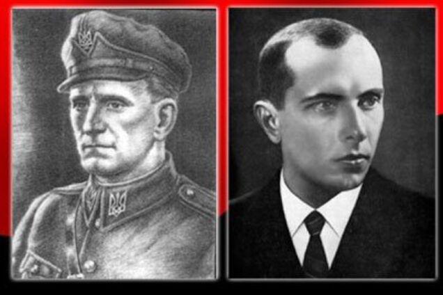 Ілюстрація. Шухевич і Бандера