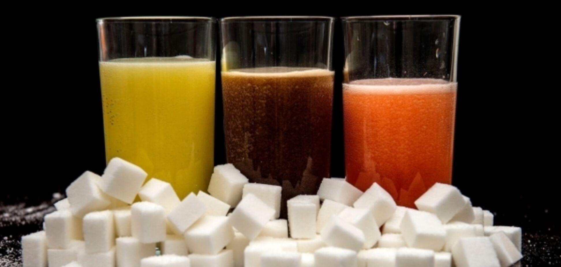 Супрун назвала небезпеку солодких напоїв