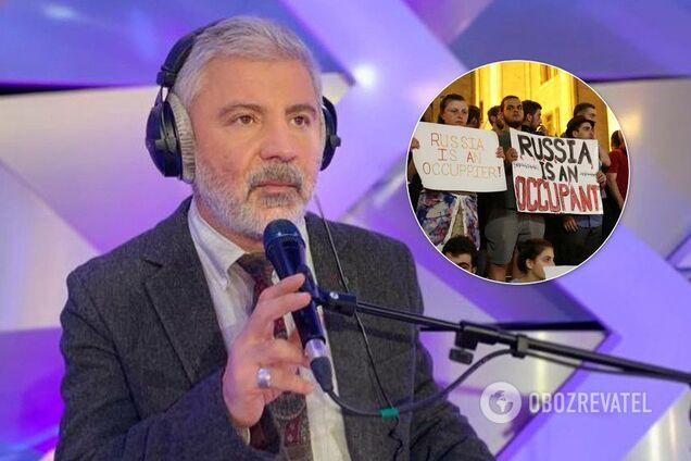 Сосо Павліашвілі проти антиросійських протестів в Грузії
