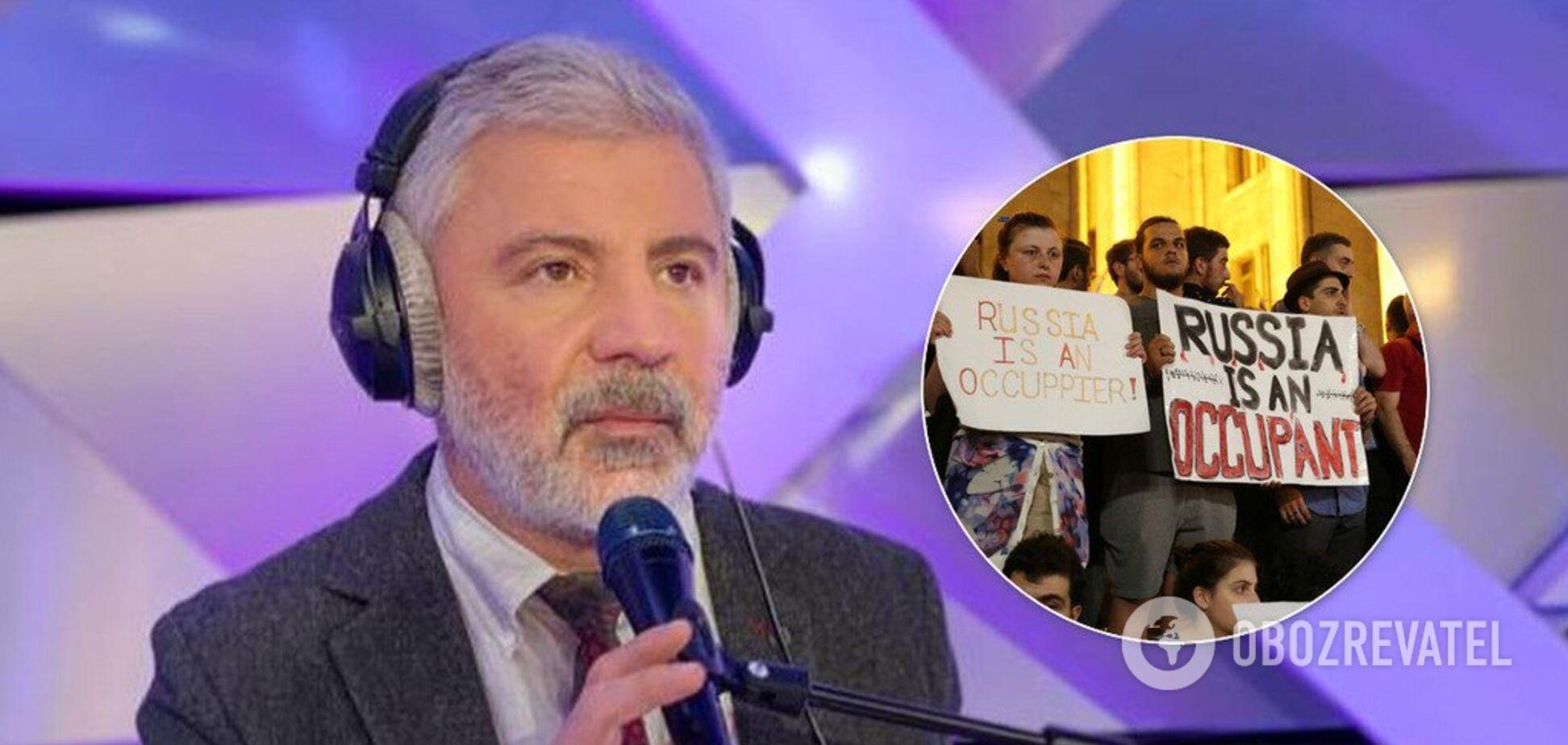 'Будет, как с Украиной!' Павлиашвили накинулся на протестующих в Грузии из-за России