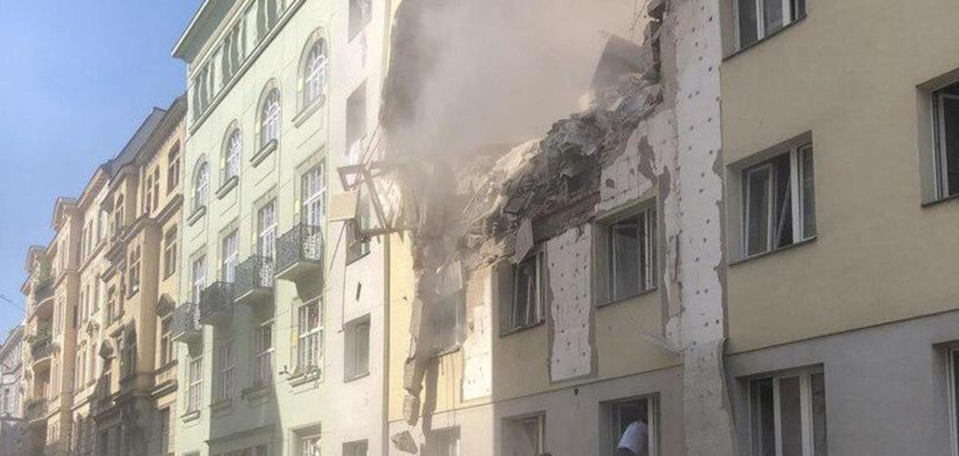 В Вене взорвалась высотка