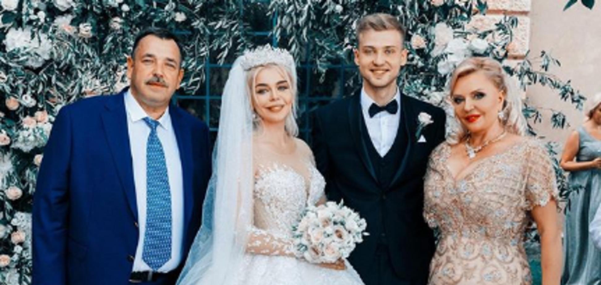 Весілля Аліни Гросу: з'ясувалися нечувані витрати на свято