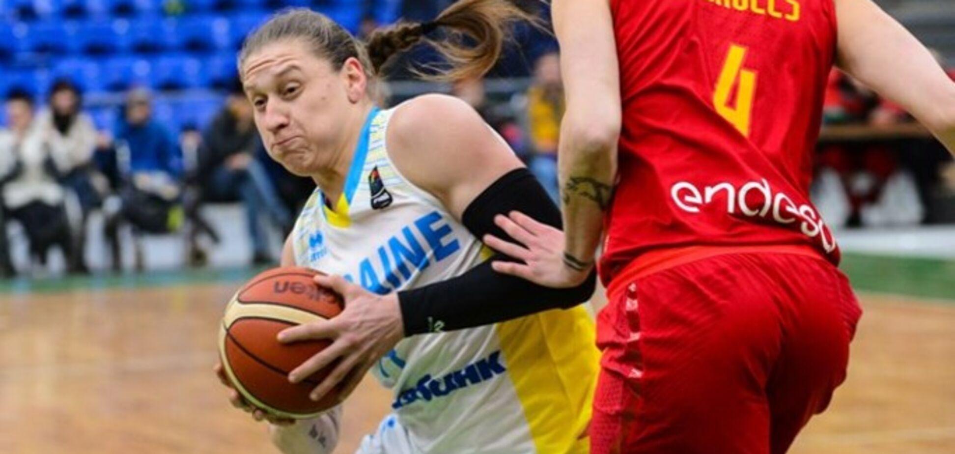 Україна – Іспанія: результат матчу жіночого Євробаскета-2019