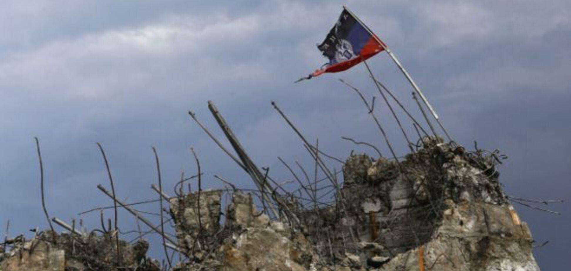 Пропагандистов Путина обстреляли под Донецком