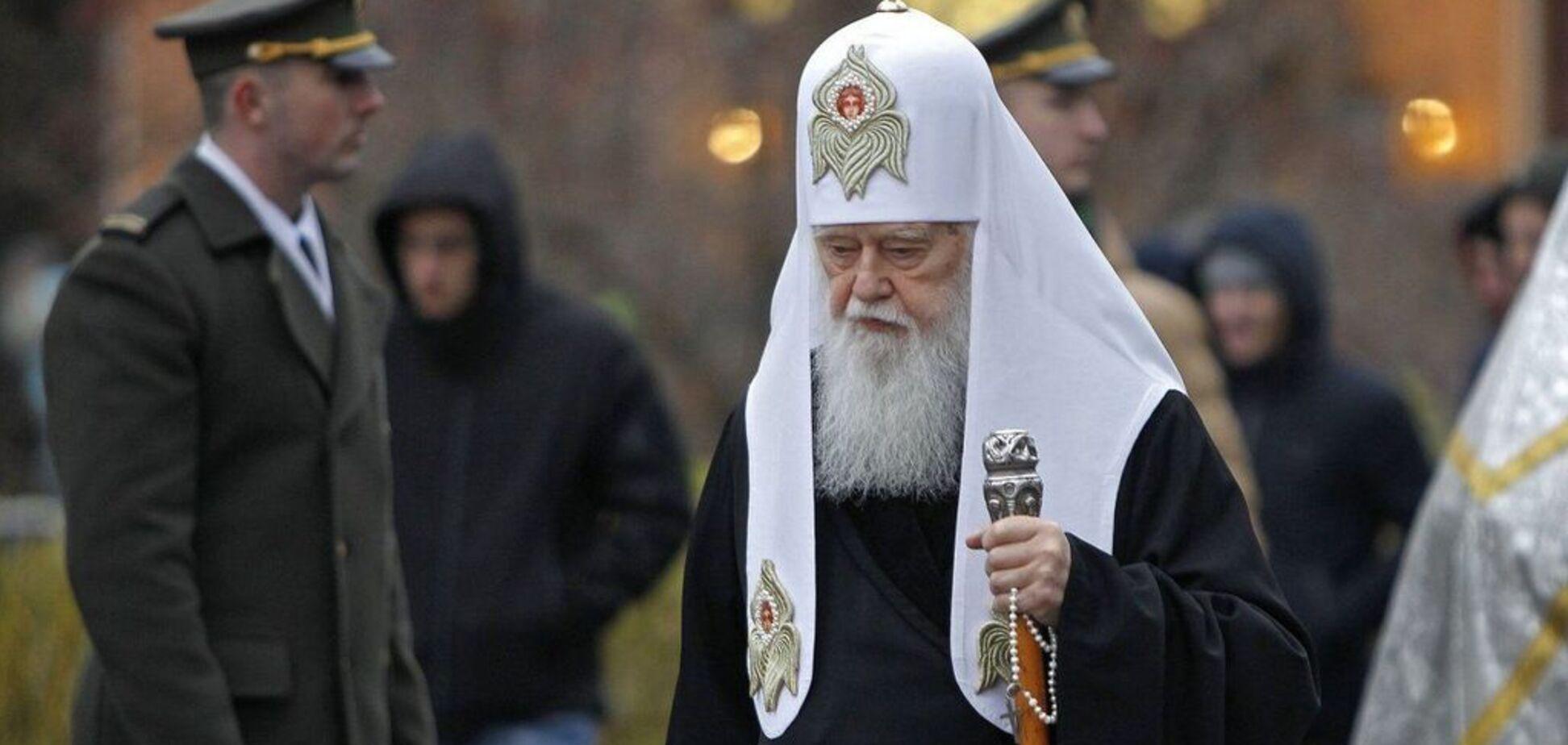 Филарета вернут Москве: озвучен способ наказания почетного патриарха