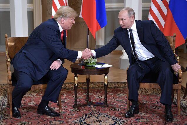 Дональд Трамп, Владимир Путин, Хельсинки, 16 июля 2018 года