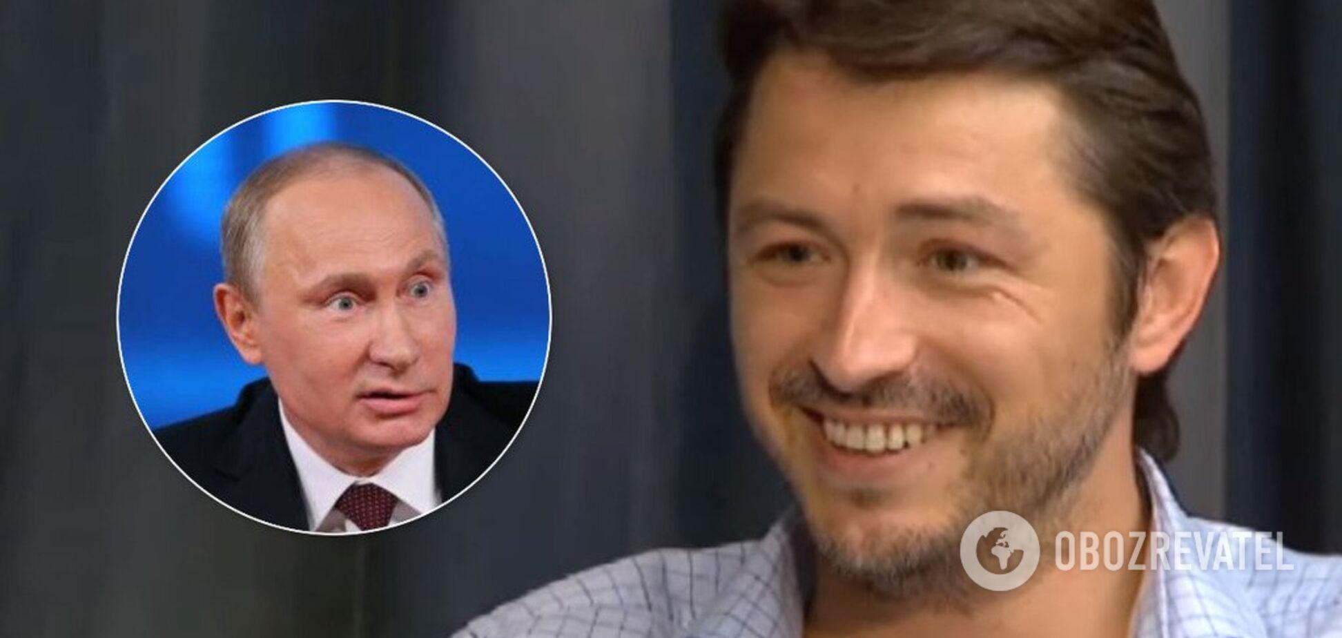 'Путін — х*йло! Що не ясно?' Притула публічно принизив главу РФ