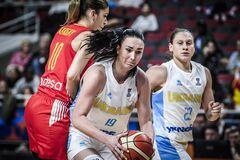Україна програла Іспанії на жіночому Євробаскеті-2019
