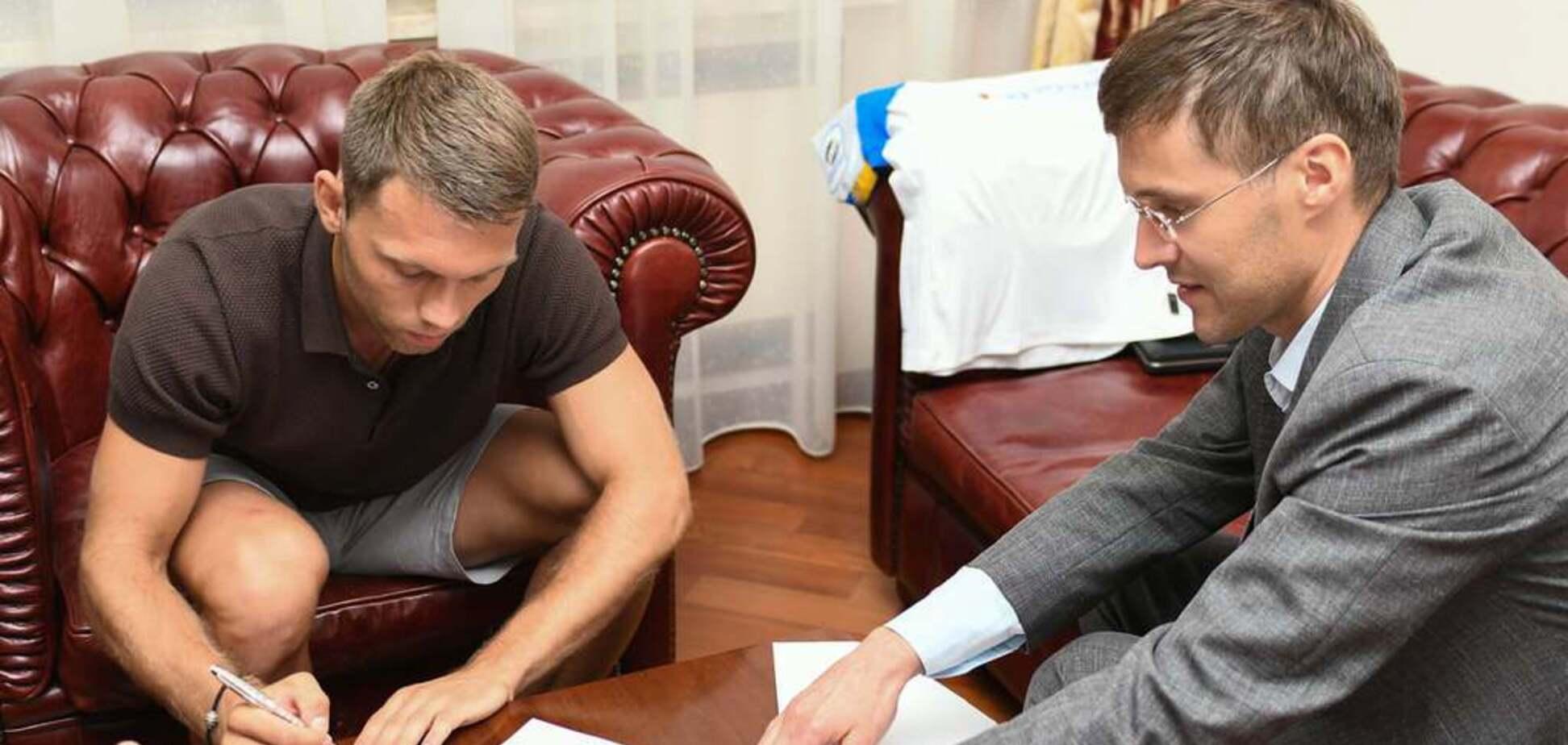 Официально: 'Динамо' подписало ключевого футболиста сборной Украины