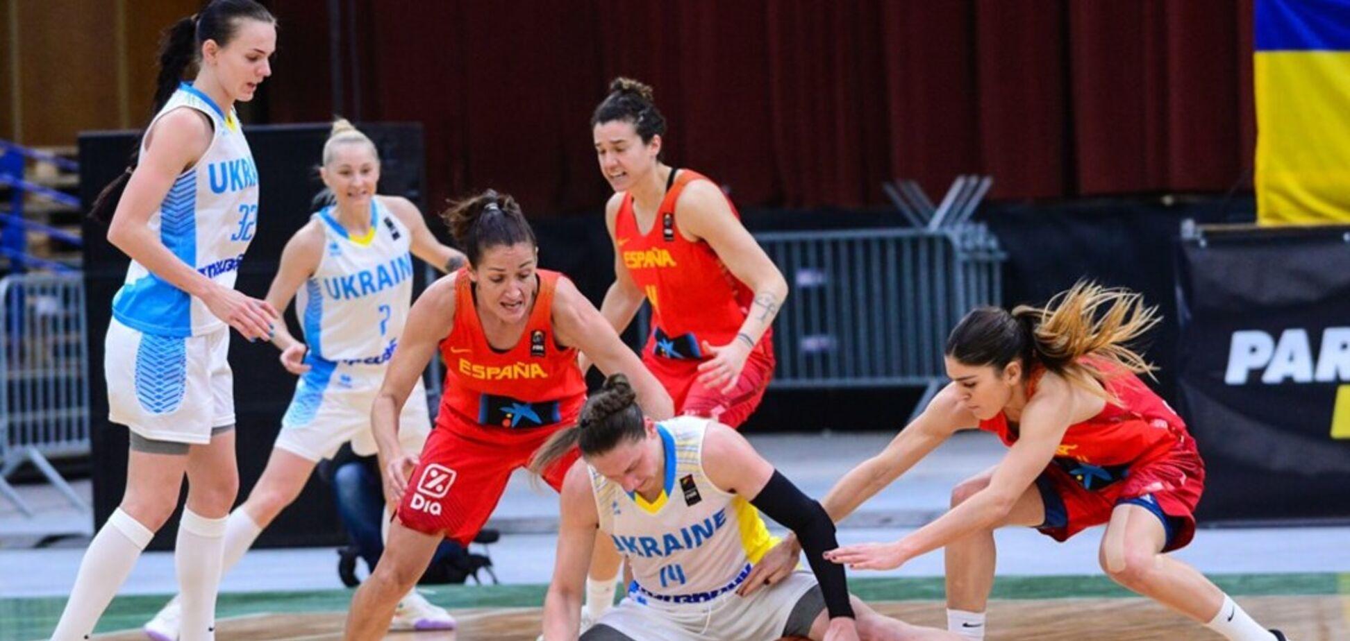 Украина – Испания: назван фаворит матча женского Евробаскета