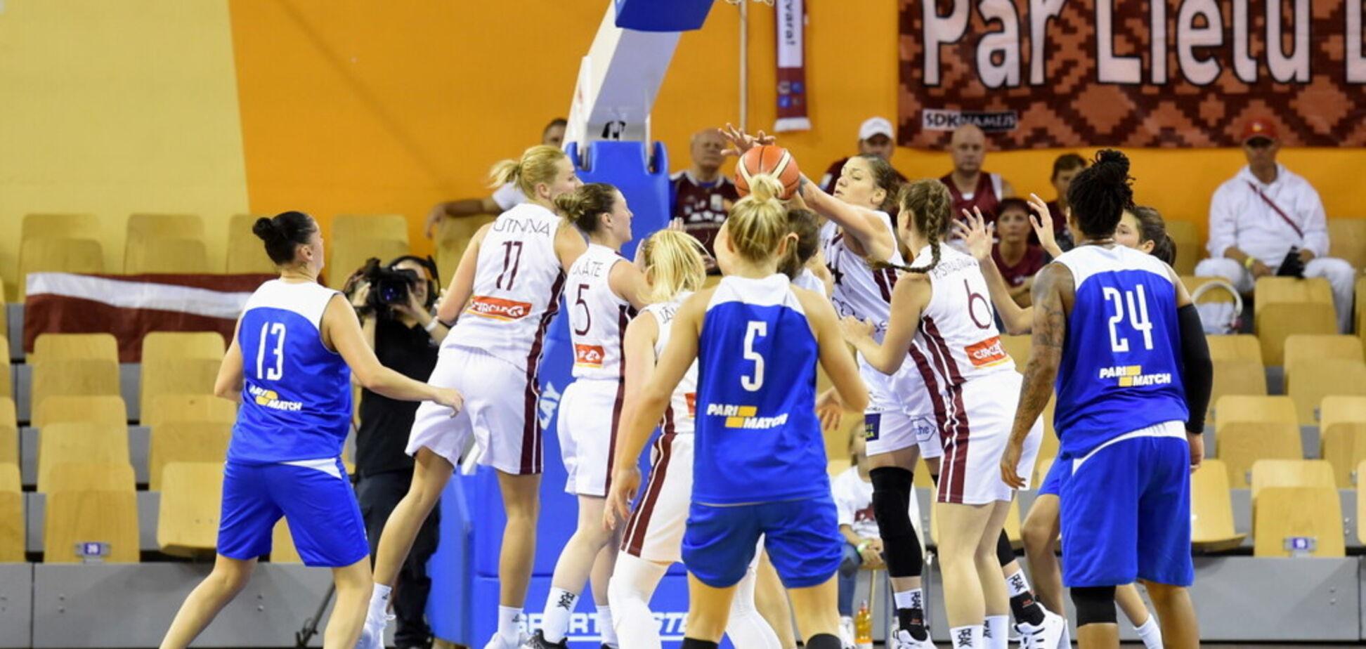 Латвія – Україна: результат матчу жіночого Євробаскету-2019