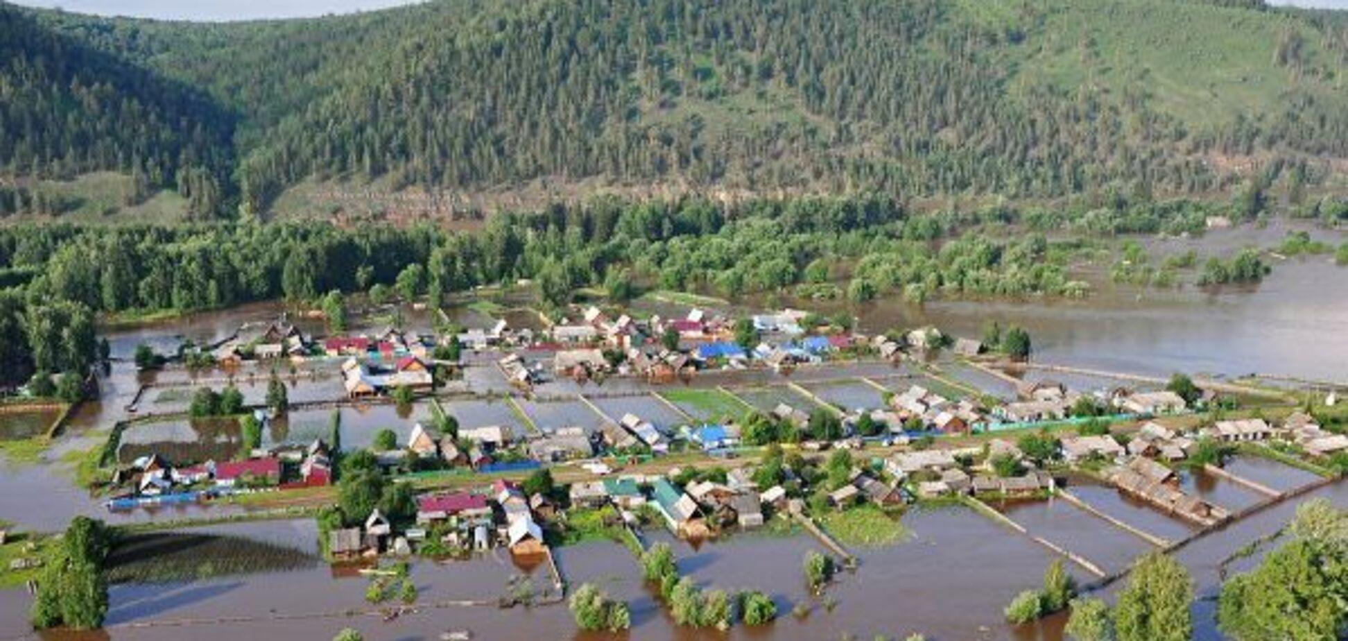 Иркутскую область затопило