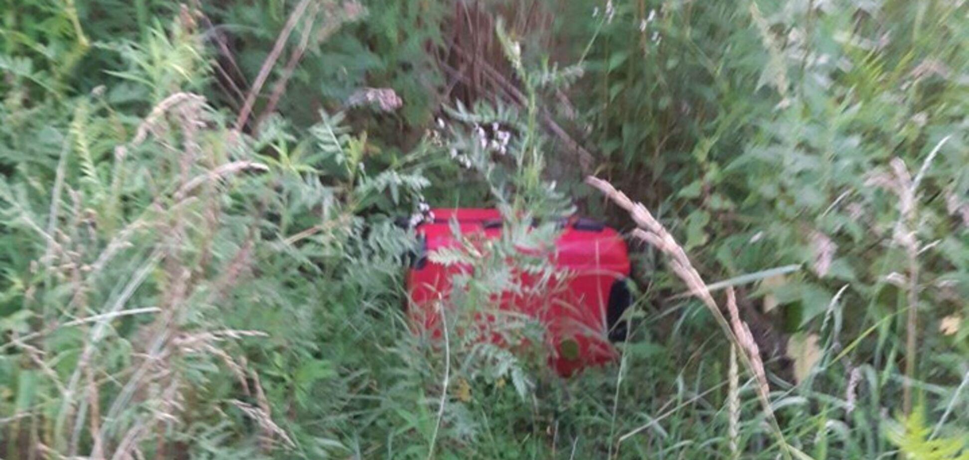 В Черновцах нашли чемодан с телом маленького ребенка. Фото 18+