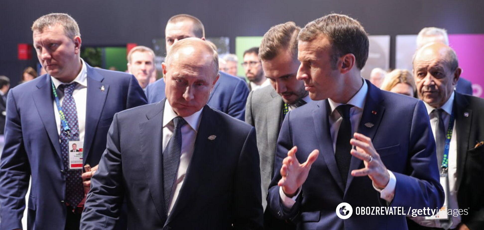 'Сила и дух!' На саммите G20 Макрон напомнил Путину об Украине