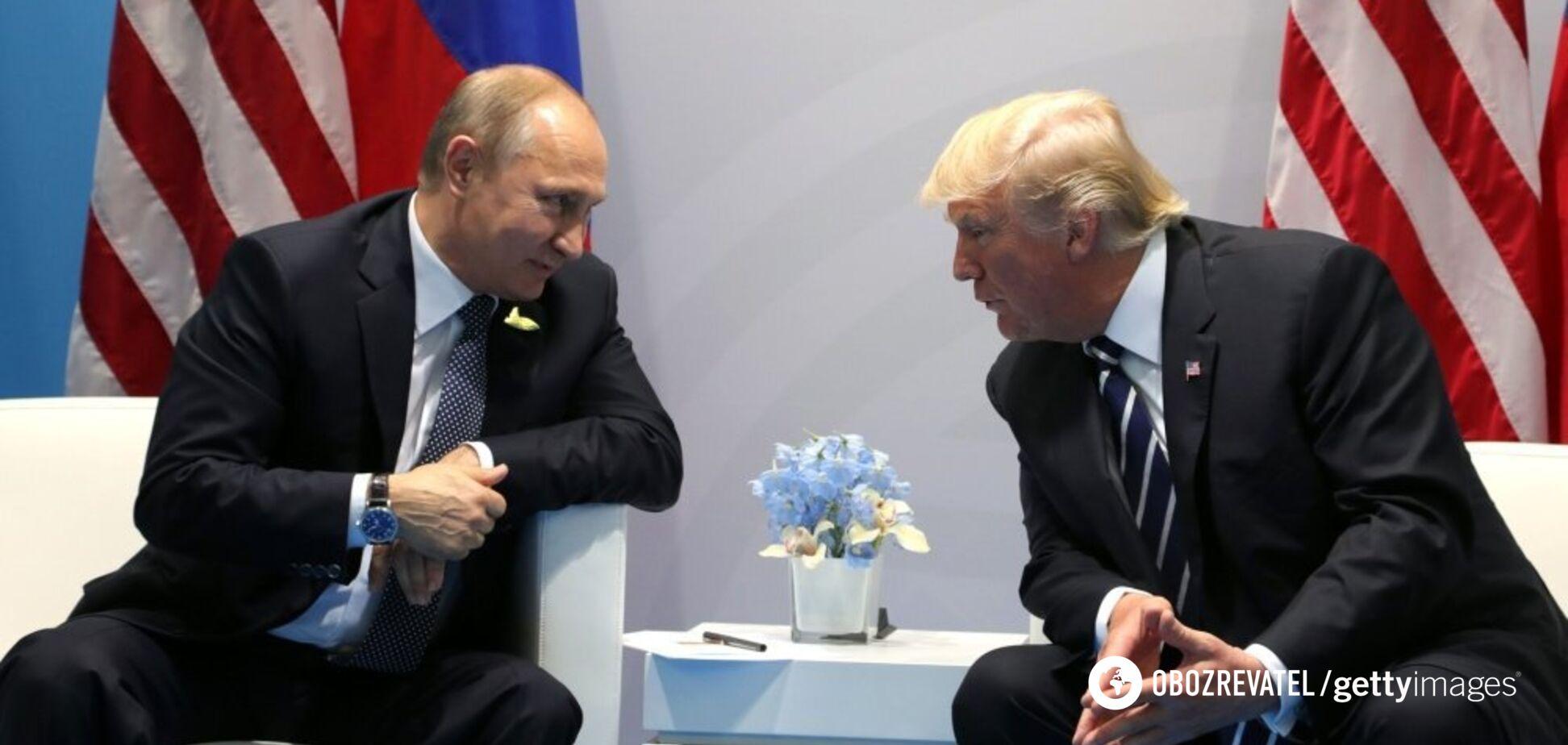 Обсуждали Украину: Белый дом рассекретил первые подробности встречи Путина и Трампа