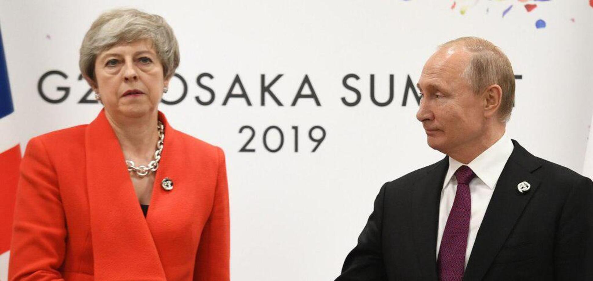 Саміт G20: Мей раптово звернулася до Путіна через Україну