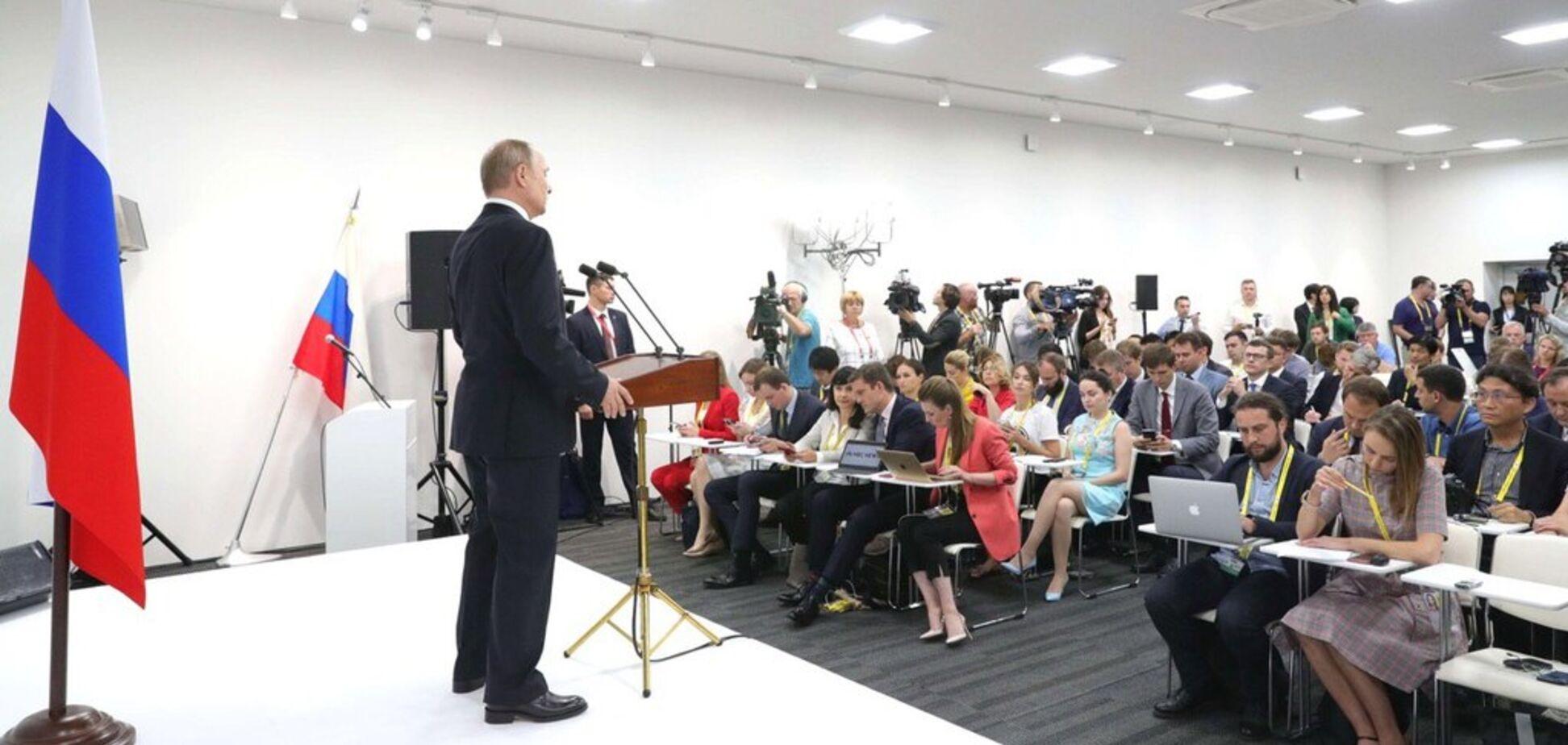 'Всем видно высоту каблуков': Путин попал под насмешки из-за нового фото