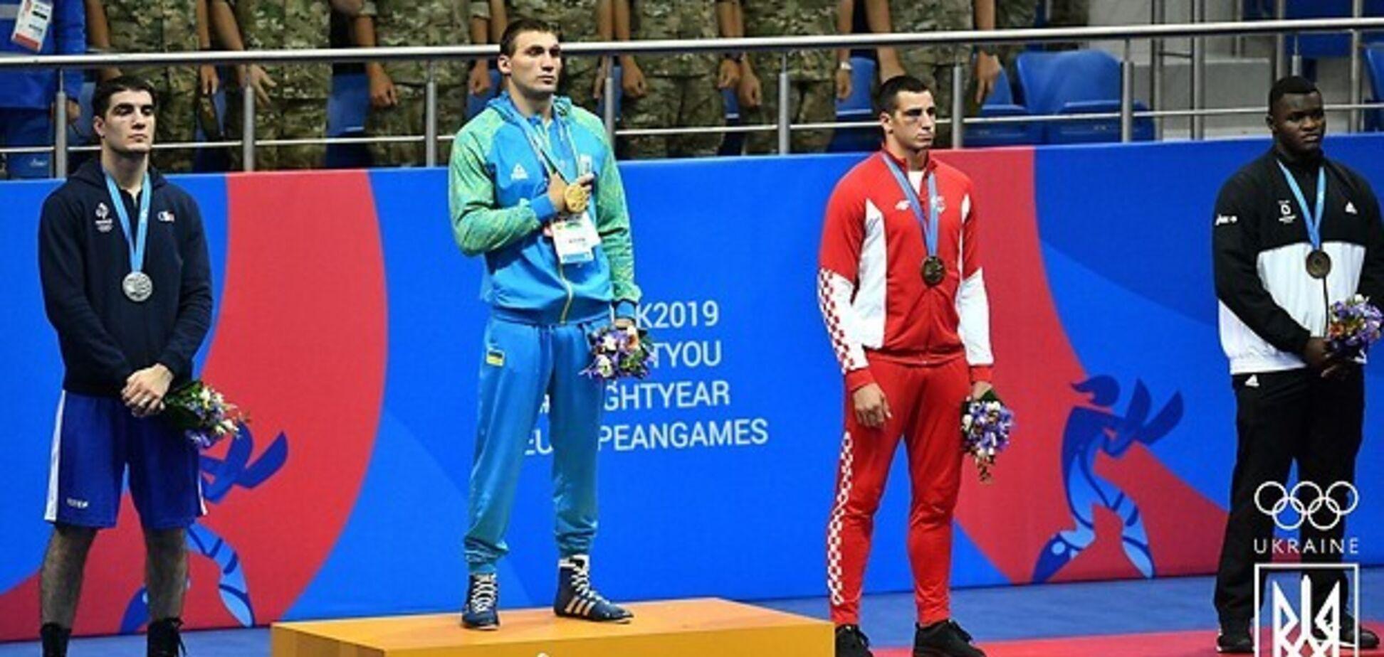 Украинский боксер в кровавом бою выиграл 'золото' Европейских игр