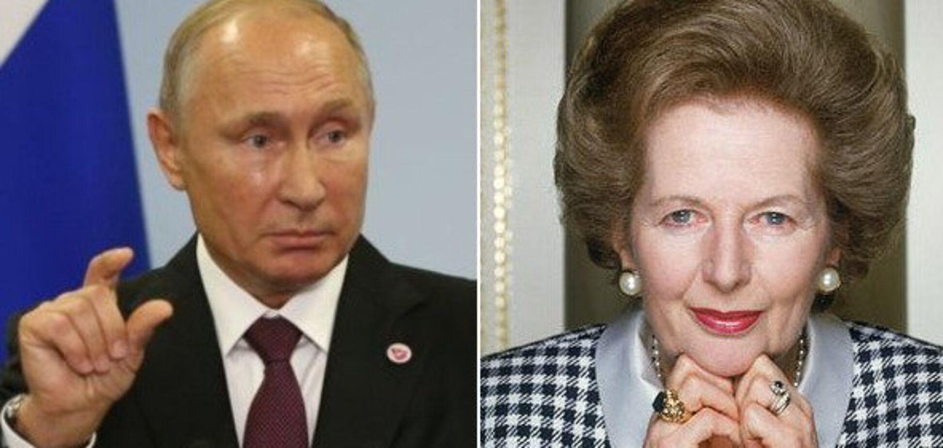 Идиот Путин учит мир, как жить