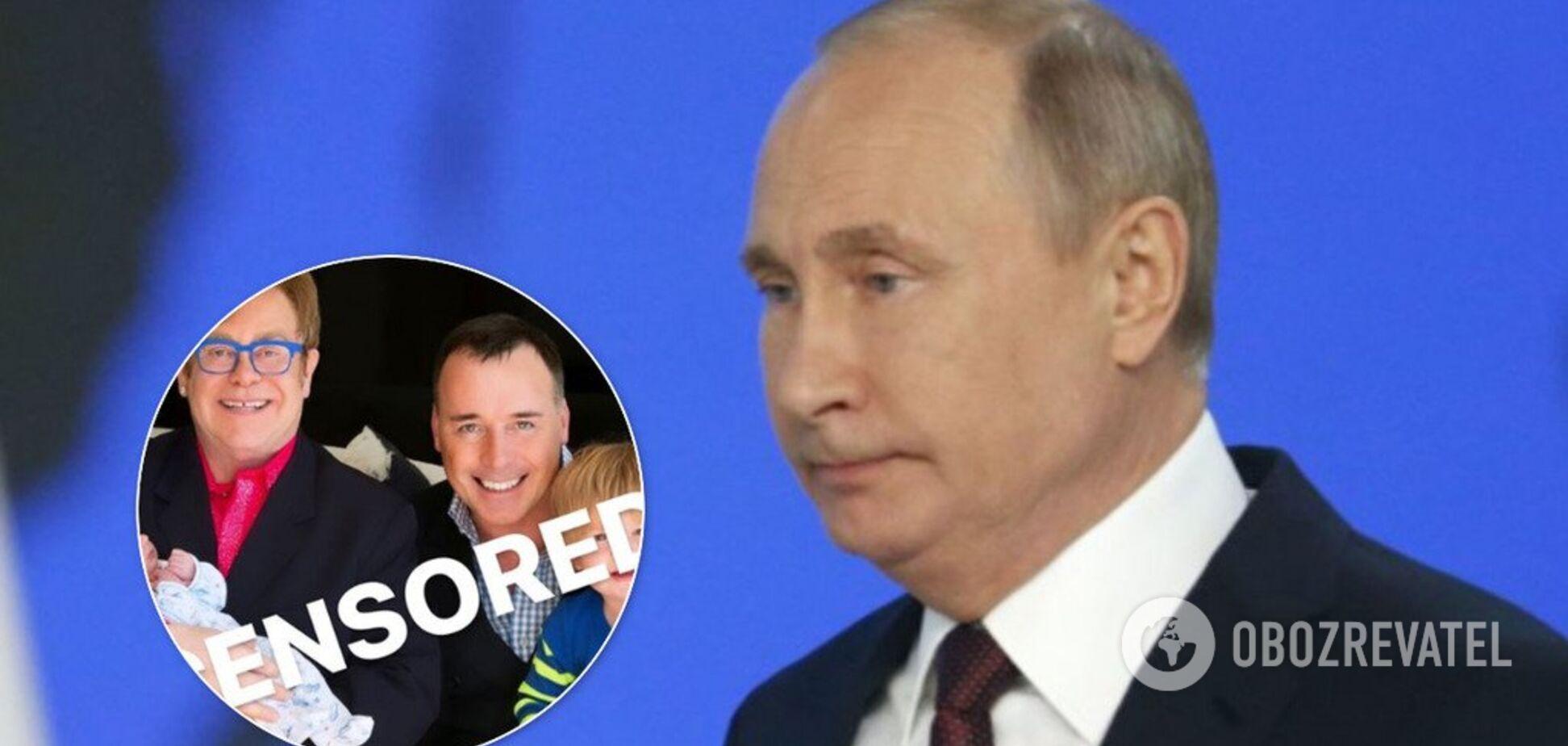 'Трансформери, трансгендери': Путін осоромився на G20 і розлютив Елтона Джона