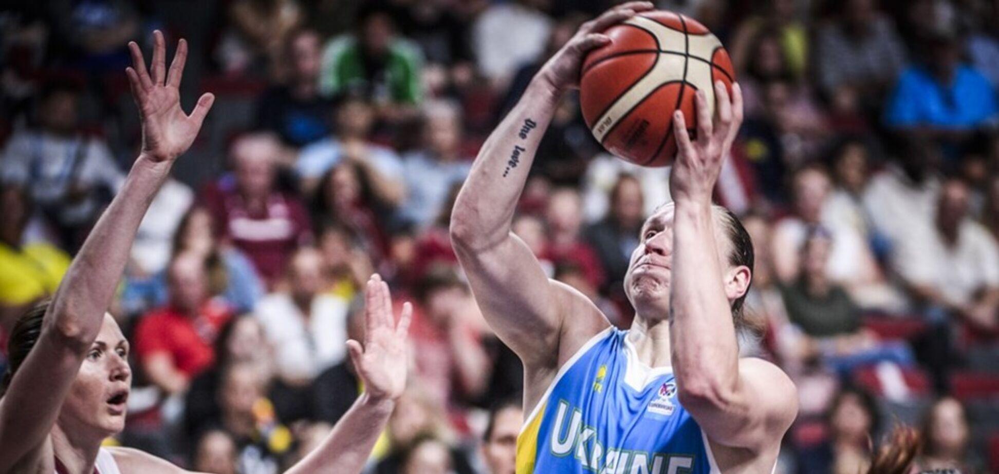 Украина – Великобритания: результат матча женского Евробаскета-2019