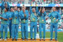 Гімн України на Європейських іграх викликав фурор на стадіоні в Мінську