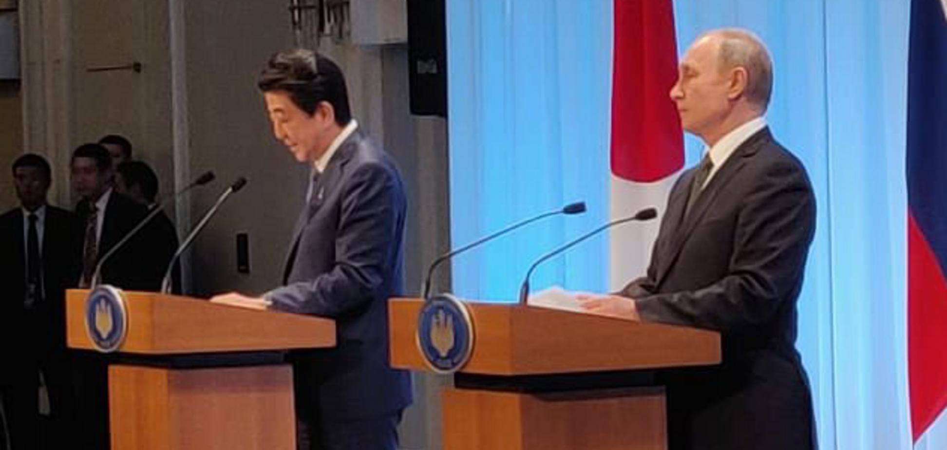 Прем'єр Японії раптово захотів помиритися з Путіним