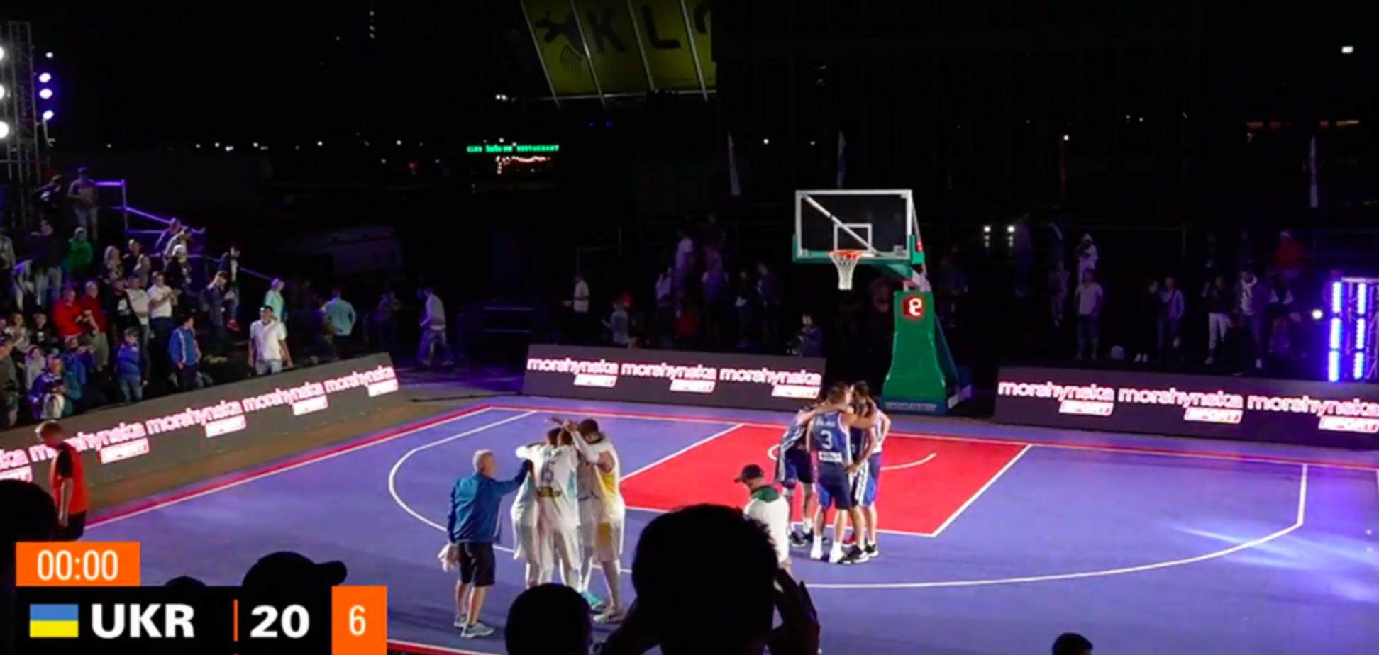 Украина с победы стартовала в квалификации Евробаскета 3х3