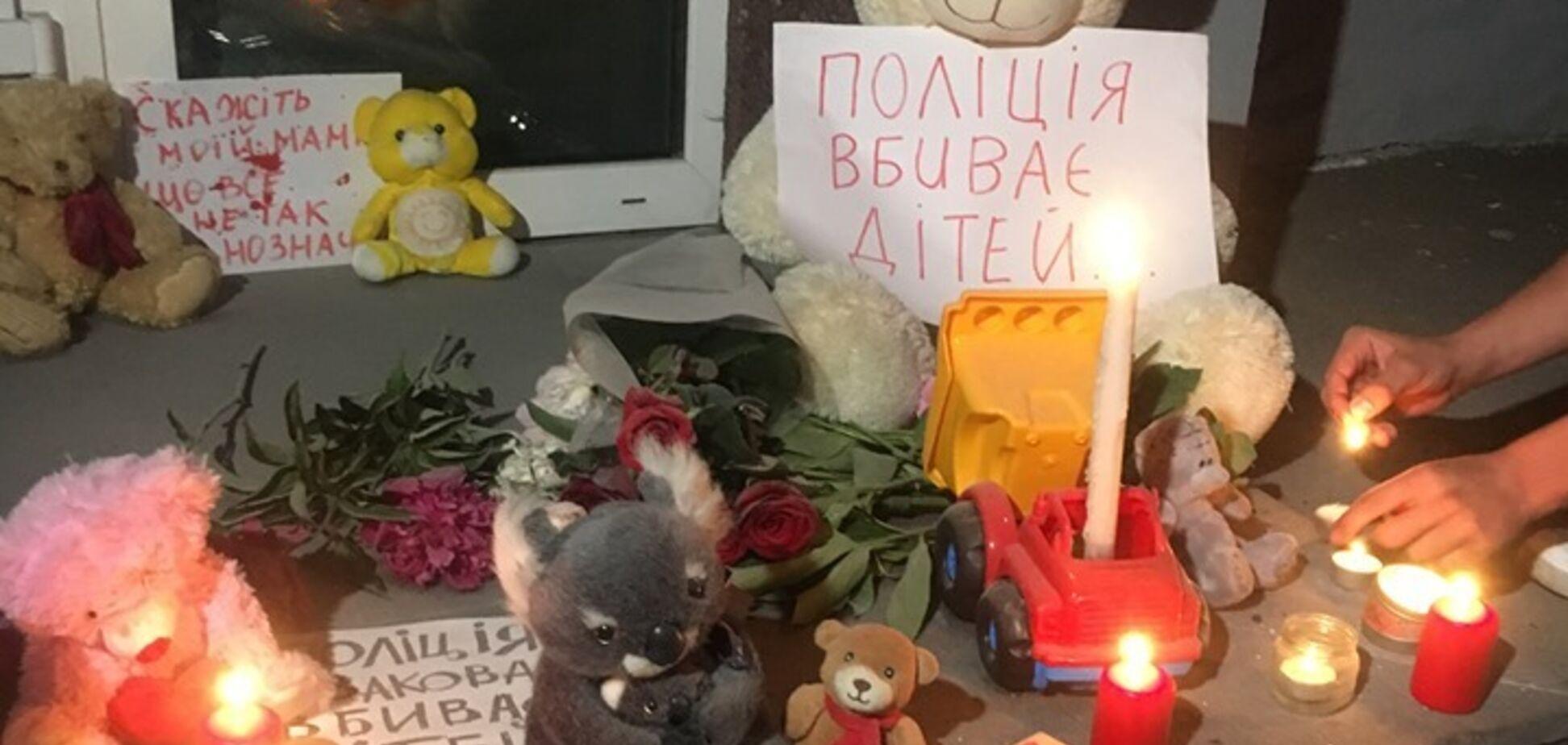 Україна сколихнуло вбивство поліцейськими дитини під Києвом