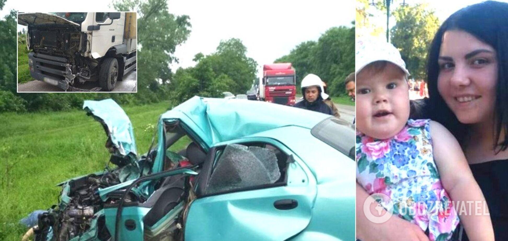 Малышка с мамой погибли на месте: подробности масштабного ДТП под Хмельницким