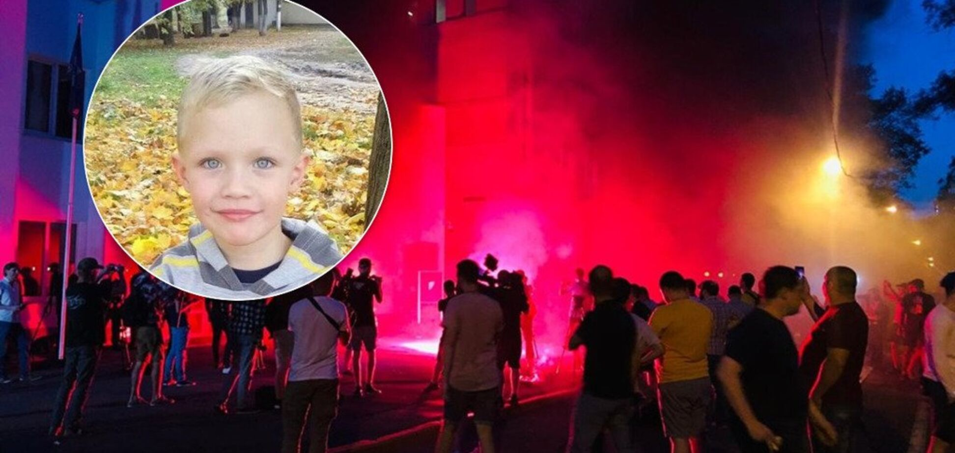 Полицейские убили ребенка: под стенами МВД в Киеве устроили бунт. Фото и видео