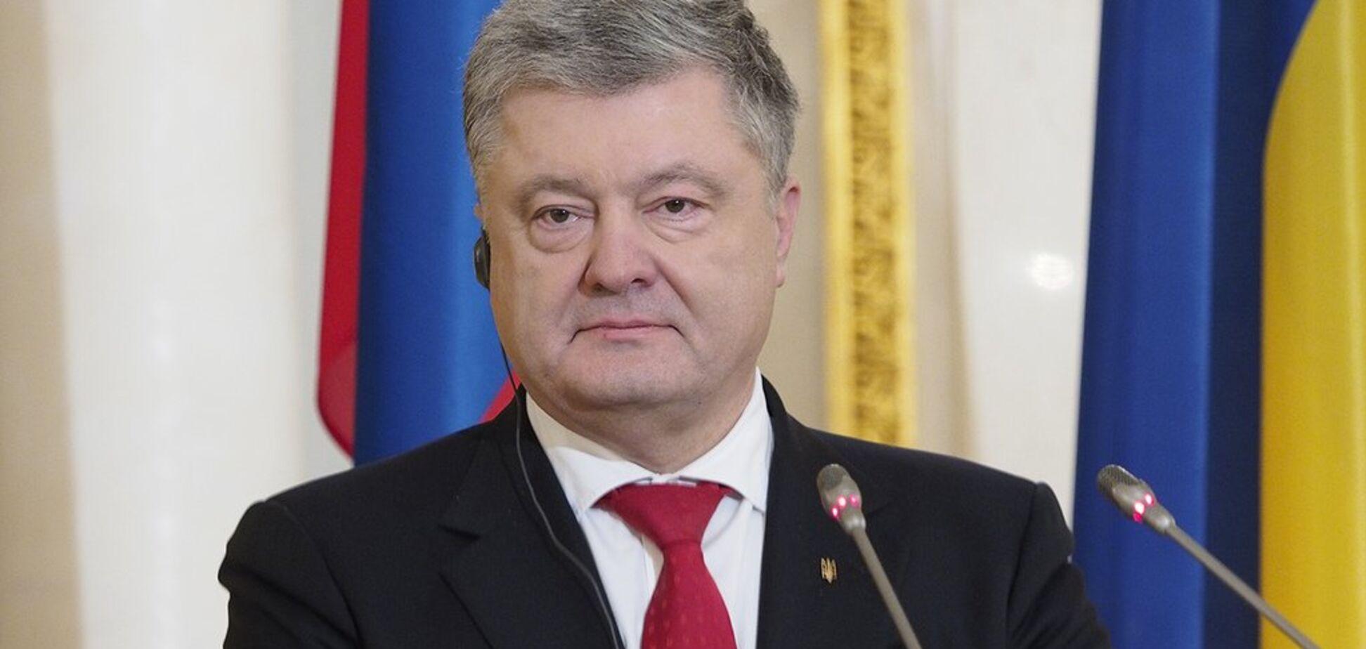 Украину пытаются оттеснить на обочину международной политики – Порошенко