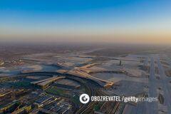 У Китаї побудували найбільший аеропорт в світі: вражаючі фото та відео
