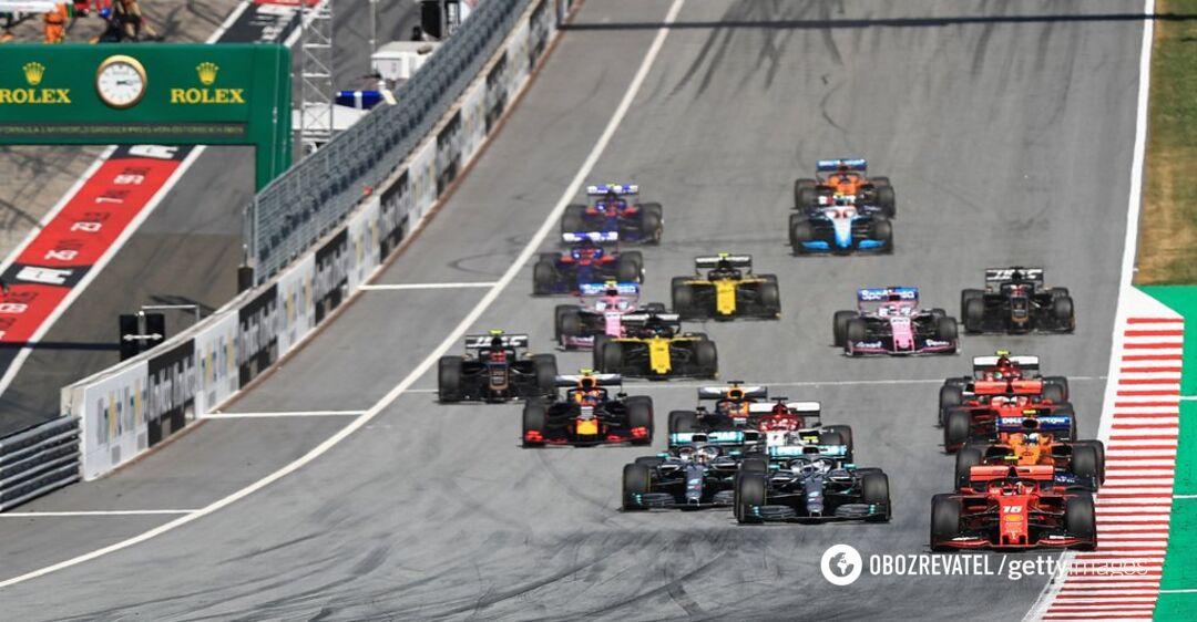 Формула-1: Гран-при Австрии завершился с сенсационным результатом
