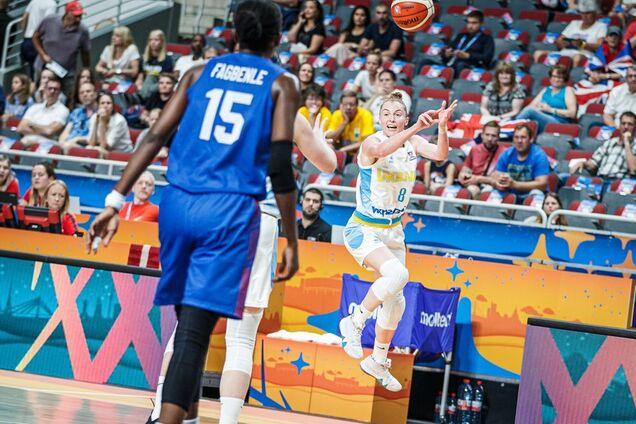 Баскетболистка сборной Украины ответила критикам в интернете