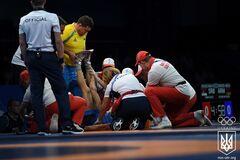 Начались судороги: украинца 'задушили' в схватке на Европейских играх - опубликовано видео