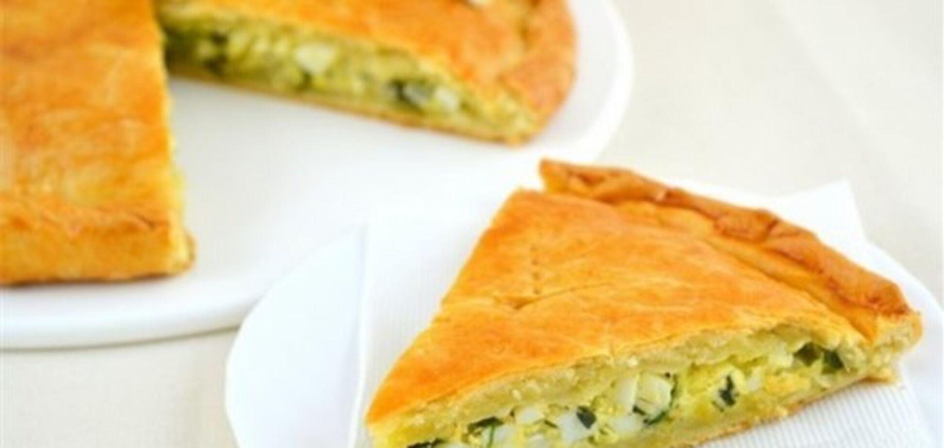 Киш и заливной пирог из молодой капусты или зелени
