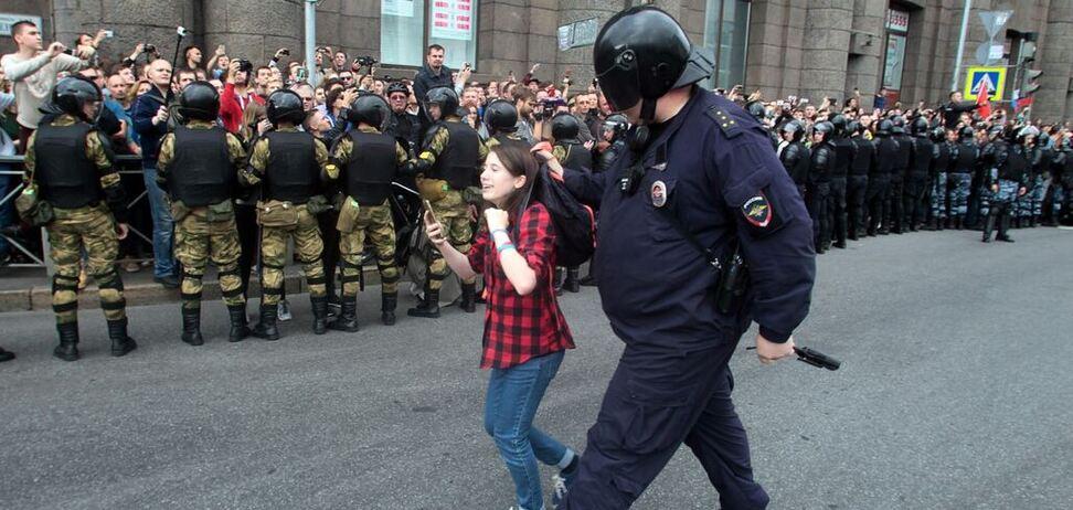 Россияне выходят на протест каждый день!