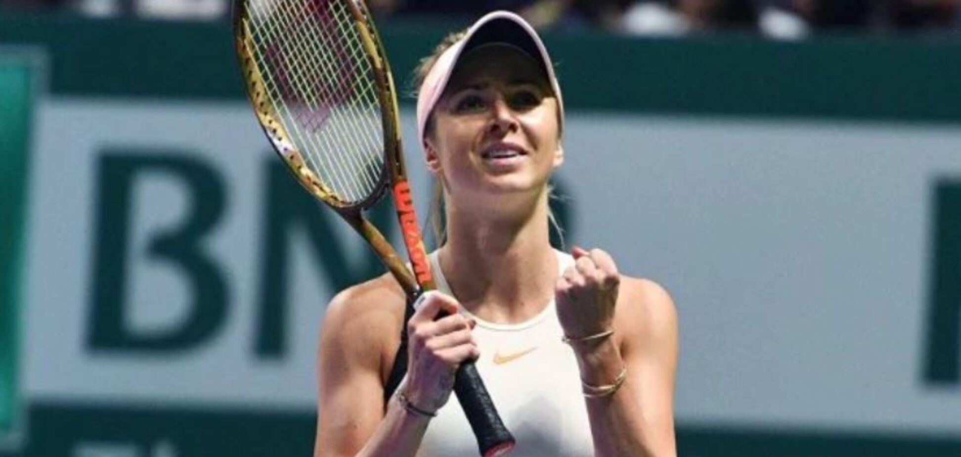 Теннисистка Элина Свитолина удивила рассказом о любимых блюдах