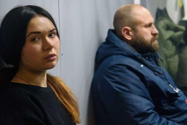 Осужденные Алена Зайцева и Геннадий Дронов