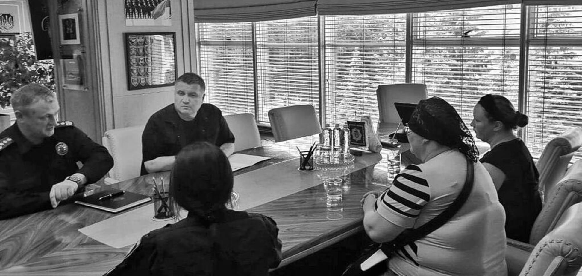 Аваков и Князев встретились с семьей убитого полицейскими ребенка: фото и детали разговора