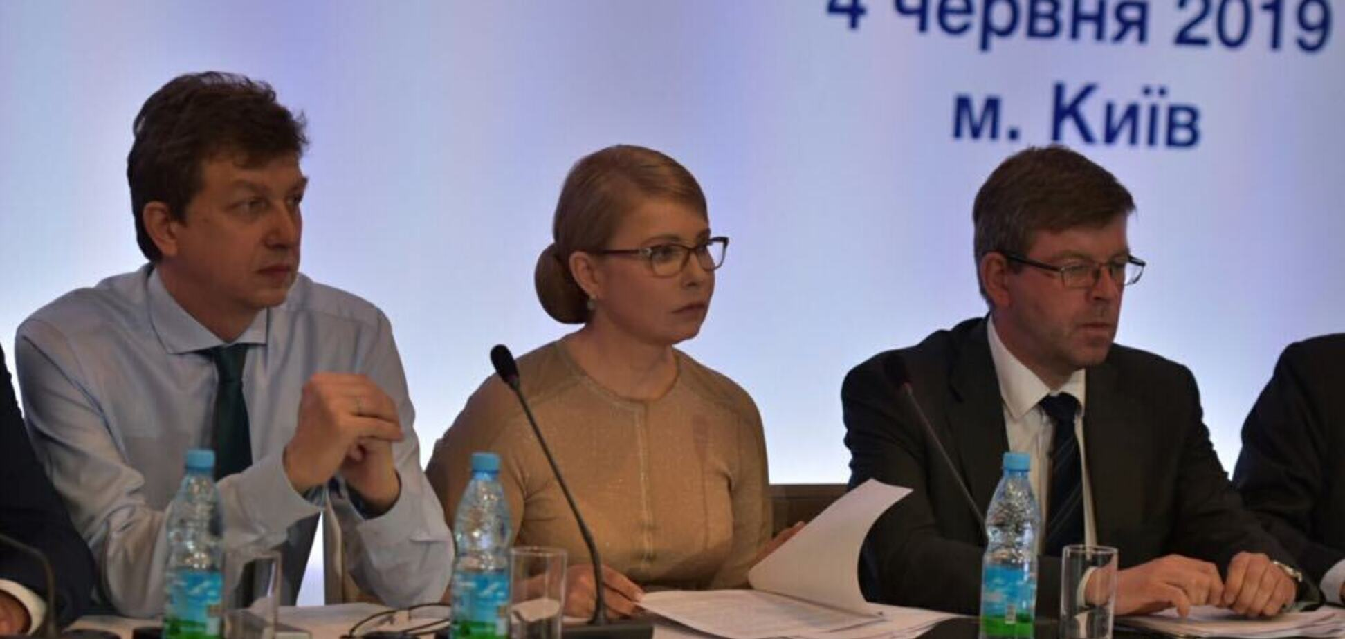 Тимошенко: только системные изменения дадут результат