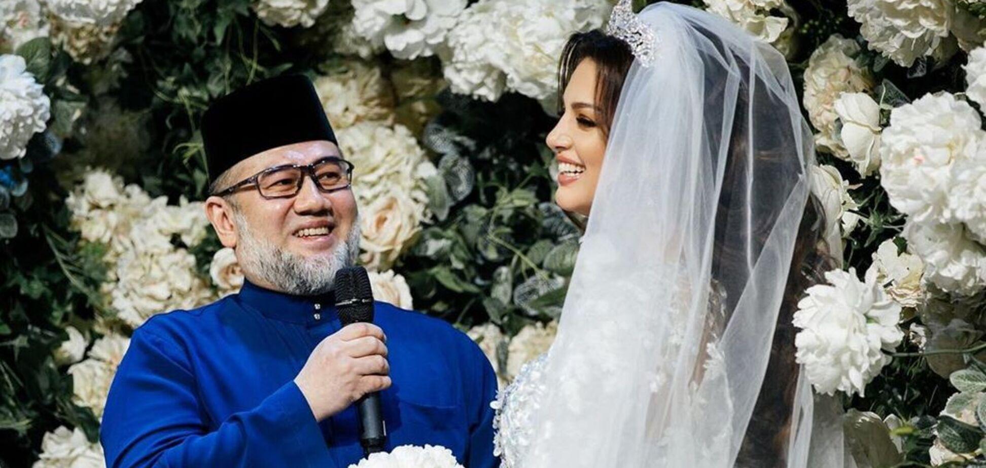 Міс Москва 2015 народила спадкоємця королю Малайзії: перше фото малюка