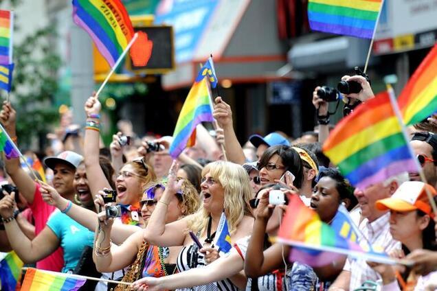 ЛГБТ-парад, иллюстрация