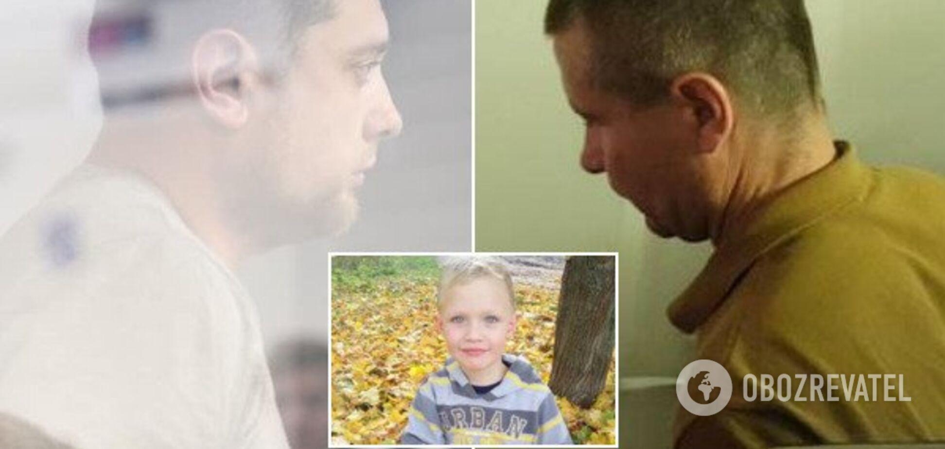 Подозреваемые и убитый ребенок