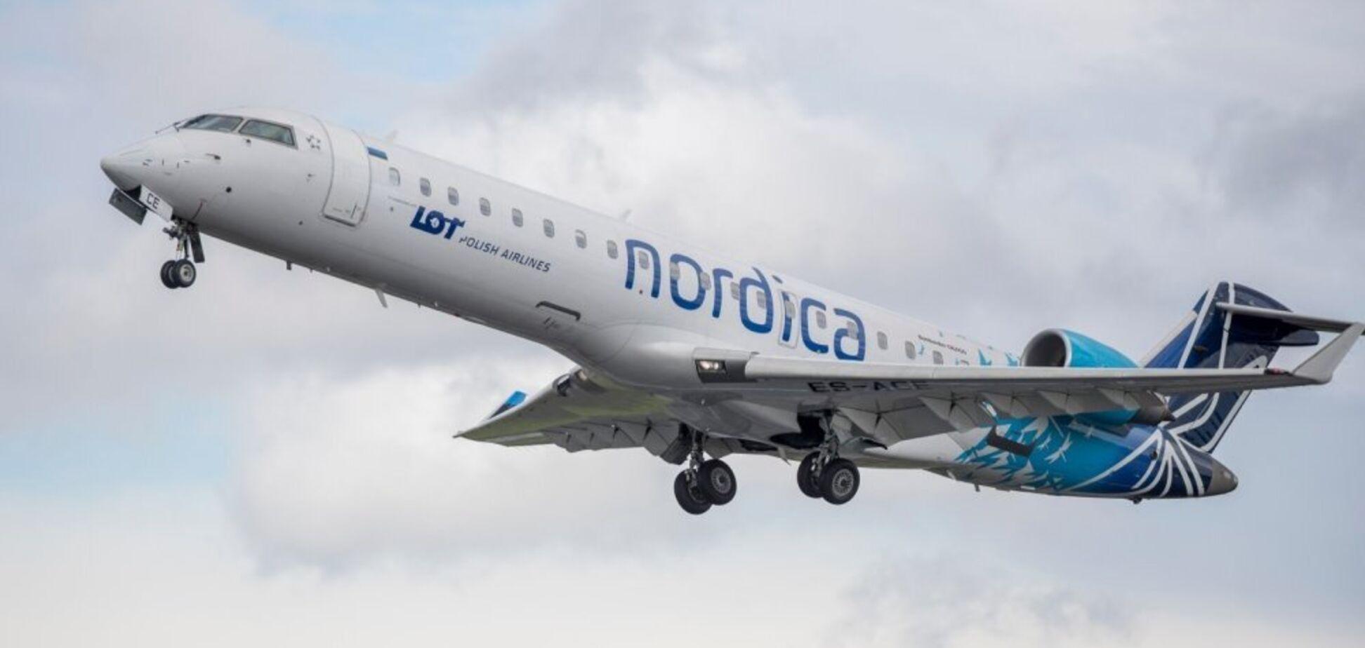 В Эстонии произошло ЧП с самолетом с украинцами