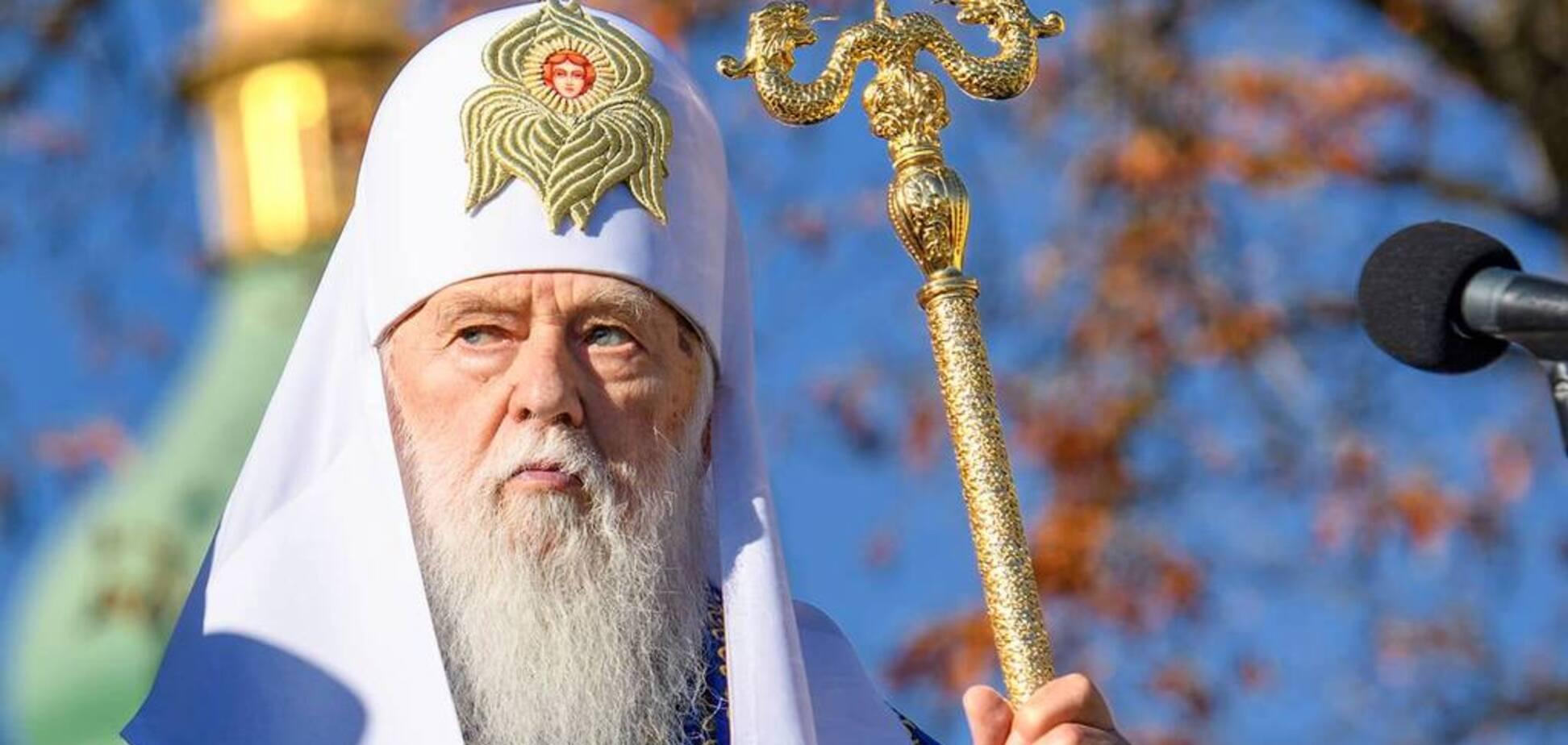 'Сам себе патриарх': Филарета обвинили в провокациях