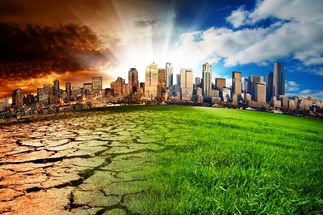 Глобальное потепление, иллюстрация