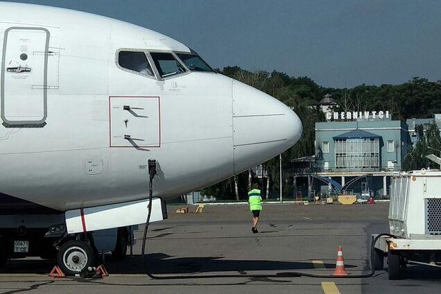 Ілюстрація. Аеропорт у Чернівцях